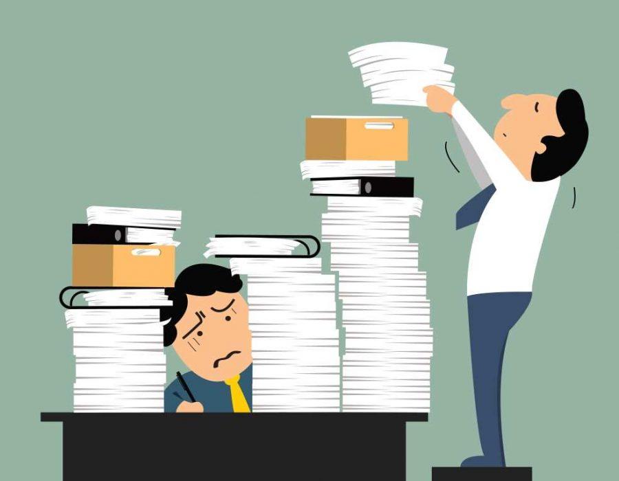 Inaptitude imputable à une surcharge de travail